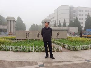冯雪林进入清华大学美术学院书法专业高级研修班交流学习