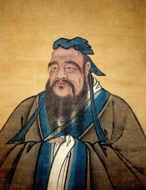 儒家学派创始人孔子