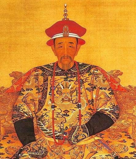 康熙帝爱新觉罗·玄烨画像