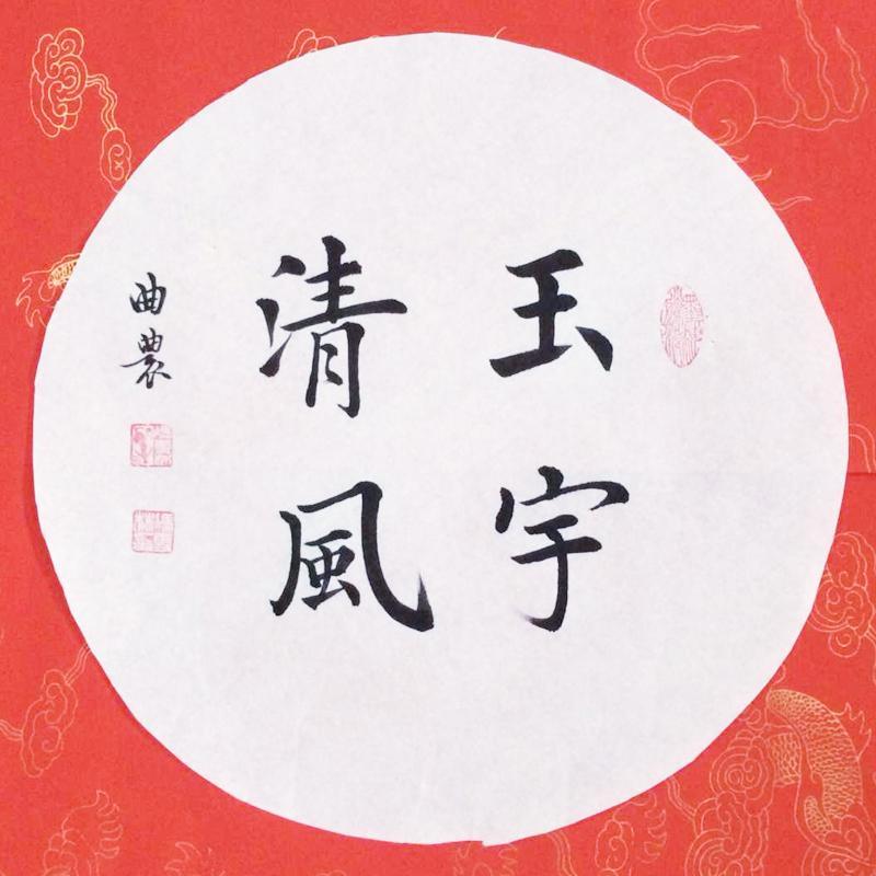 玉宇清风 书法作品 楷书字画