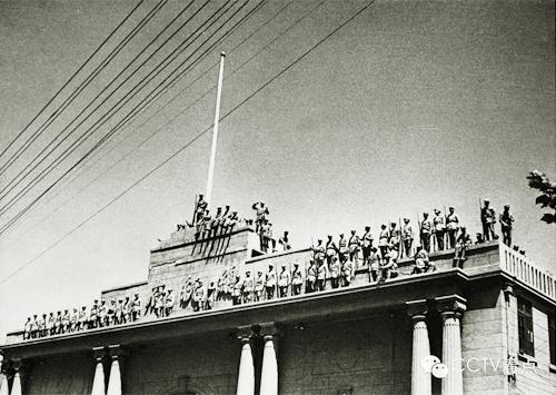 人民解放军占领南京总统府
