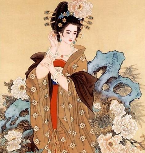 杨贵妃画像