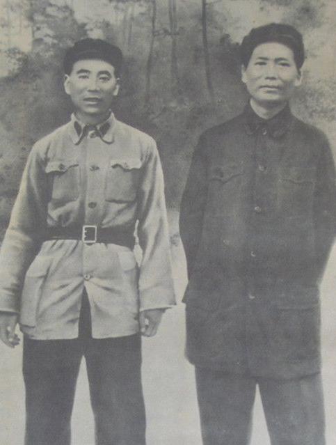 红军时期林彪和毛主席