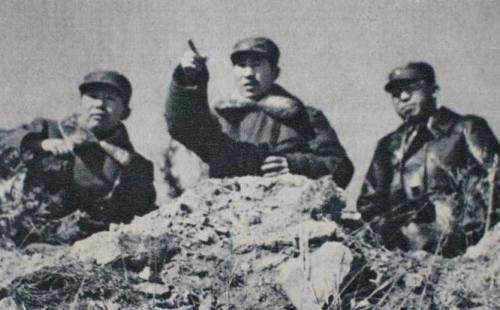 林彪、罗荣桓、刘亚楼在东北战场