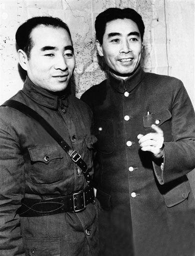 林彪和周总理