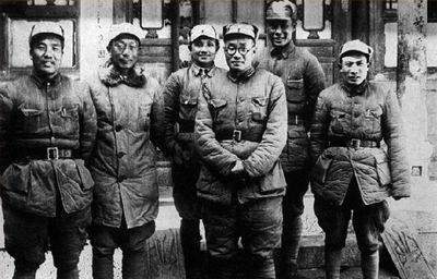 129师和晋察冀军区主要领导合影