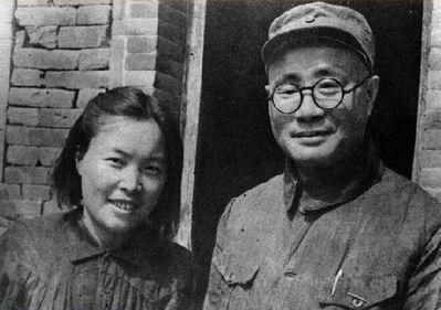 刘伯承和妻子汪荣华