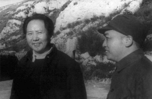 毛主席和彭总
