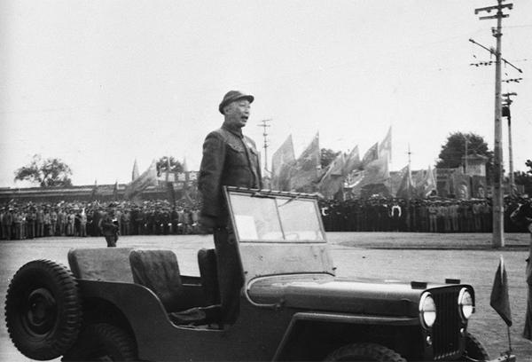 聂荣臻元帅任开国阅兵总指挥