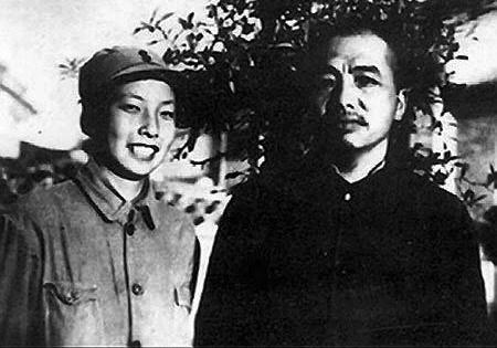 彭德怀和妻子浦安修