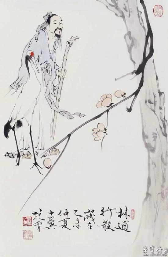 范曾国画作品