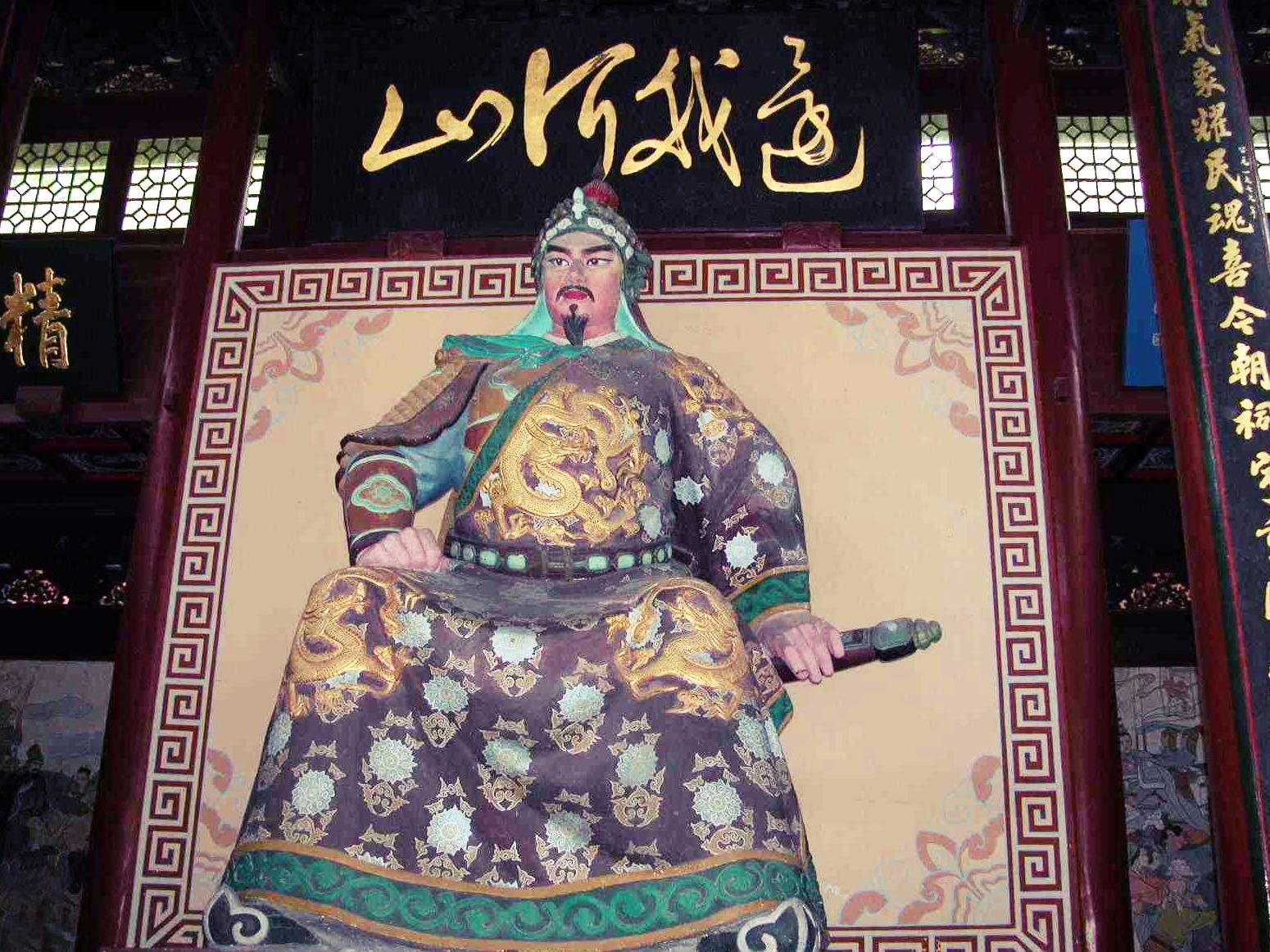 杭州岳王庙——精忠岳飞