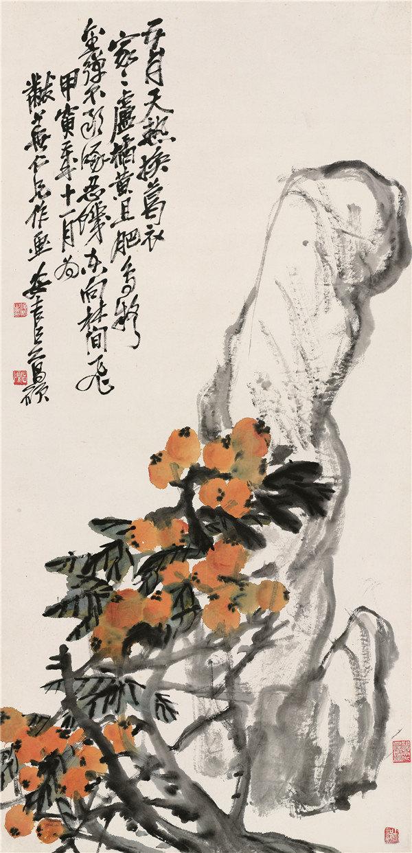 吴昌硕国画大写意欣赏