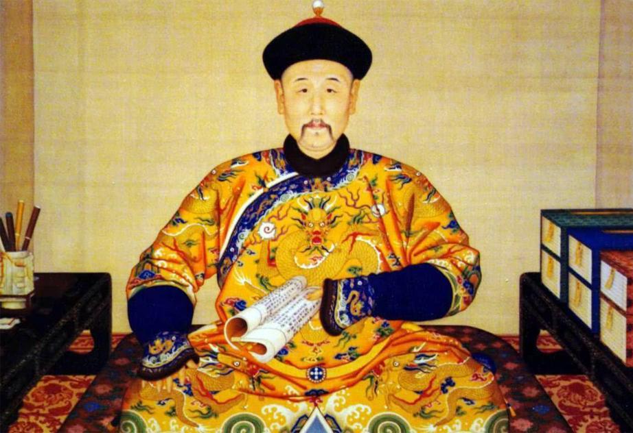 雍正皇帝画像