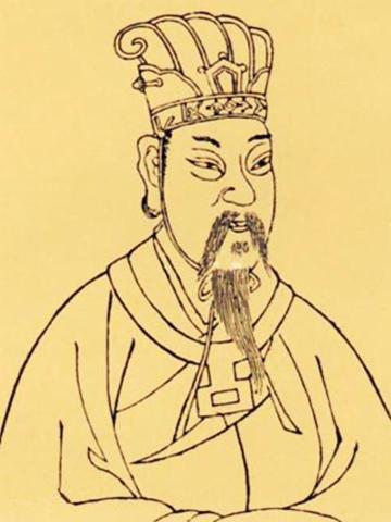 汉宣帝刘询画像