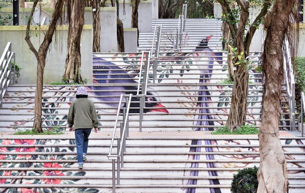 四季康乐主题城市绘画
