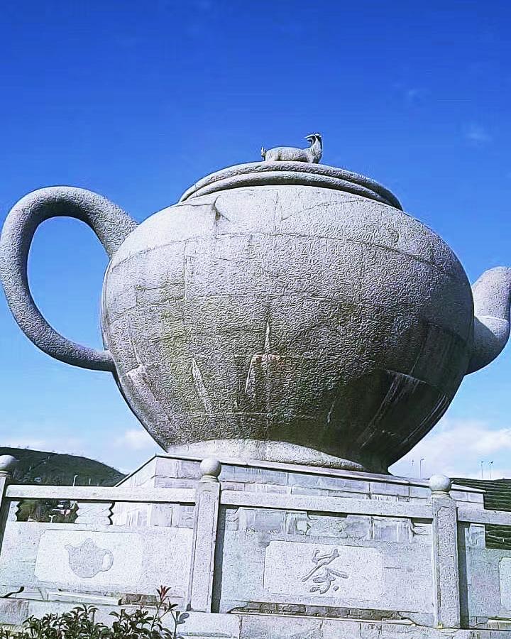 大型茶壶艺术雕塑